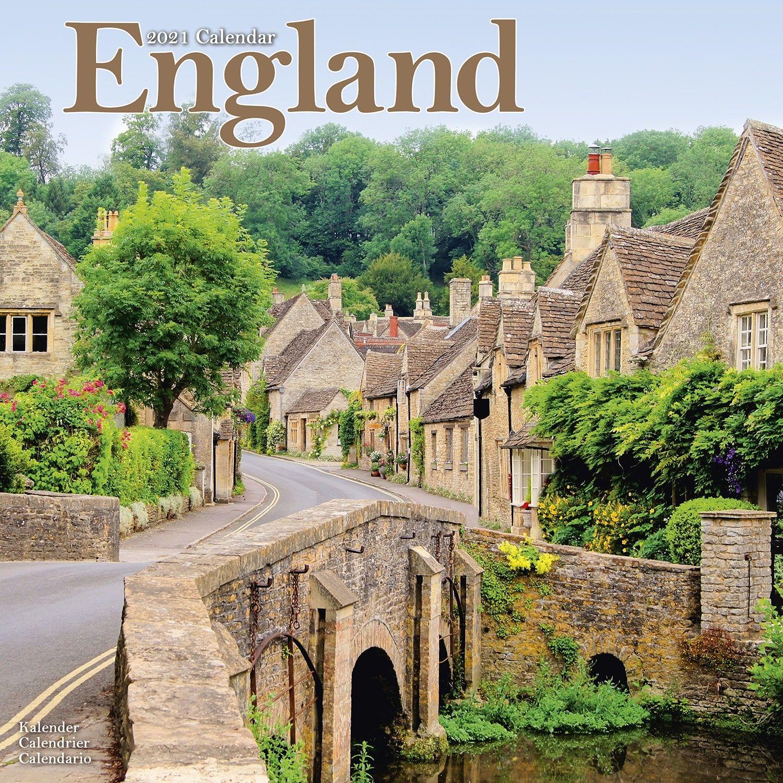 England Calendar, Travel Calendars