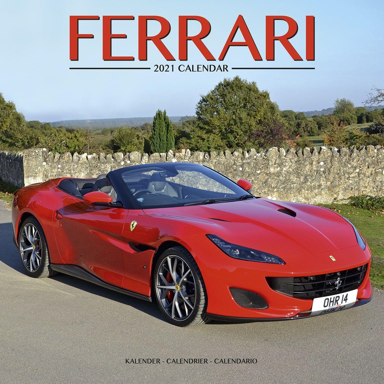 Ferrari Calendar, Vehicle Calendars   Pet Prints Inc